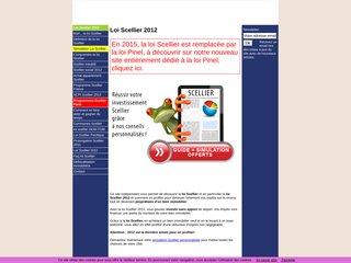 Détails : A découvrir en 2012, la loi Scellier 2012