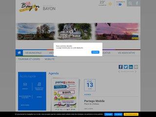 Camping Le Passe Temps 2 étoiles à Bayon
