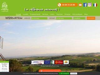 Camping Municipal Le Moulin De Sainte-Anne 4 étoiles à Villegly