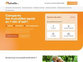 screenshot http://www.mutuelle.com Mutuelle - mutuelle santé