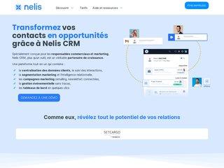 screenshot http://www.nelis.fr Nelis selfcare - service clients en ligne