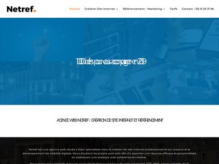 Agence  Web Netref - creation de site internet Dijon