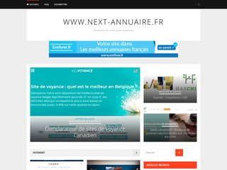 screenshot http://www.next-annuaire.fr/ <title>ANNUAIRE NOOGLE.  webmaster connect</title>