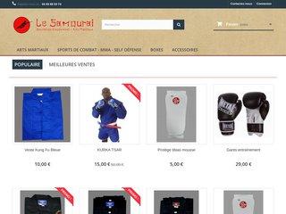 screenshot http://www.nice-samourai.com Nice-samourai