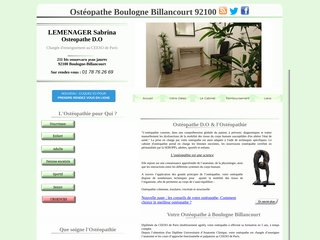 screenshot http://www.osteopatheboulogne92.com <title>ANNUAIRE NOOGLE.  webmaster connect</title>