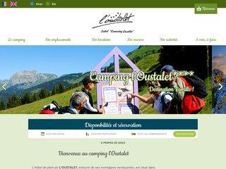 Camping Hotel De Plein Air Caravaneige L'Oustalet 4 étoiles à Chatel