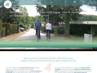 Camping Parc Residentiel De La Fontaine 3 étoiles à Saint Maurice Montcouronne