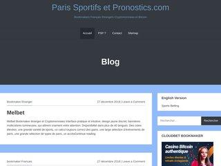 screenshot http://www.paris-sportifs-et-pronostics.com/ Les paris sportifs , aide conseils et forum