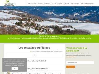 Camping Municipal Des Petites Roches 2 étoiles à Saint Hilaire Du Touvet