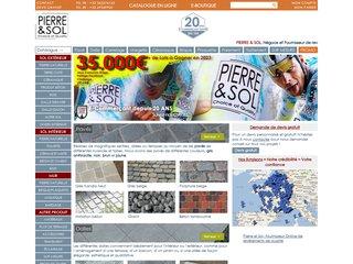 Détails : PIERRE & SOL : Fournisseur online et négoce de matériaux et revêtements de qualité