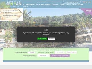 Camping Village Tropical Sen Yan 5 étoiles à Mezos