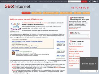 screenshot http://www.seointernet.co