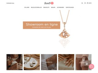 Grossiste bijoux fantaisie pas cher - Showroom Mark Kanz