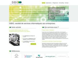 Site de la société SIBIO basée dans le parc Biocitech à Romainville