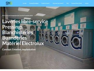 screenshot http://www.sos-laverie.com Sos laverie