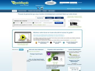 SparkAngels - Accompagnement par partage d'écran