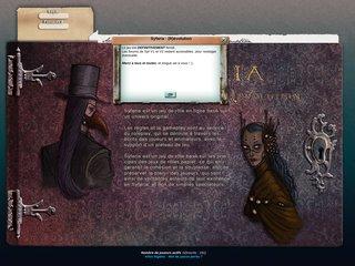screenshot http://www.syfaria.com Syfaria, la rédemption