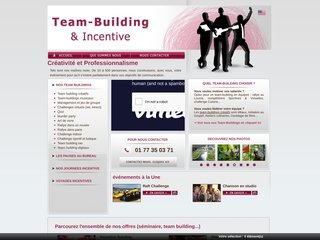 screenshot http://www.teambuilding-incentive.com