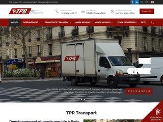 Tpr-transport.com entreprise de déménagement paris