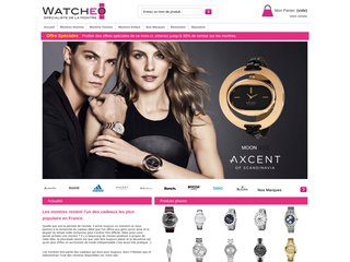 screenshot http://www.watcheo.fr/ Montres