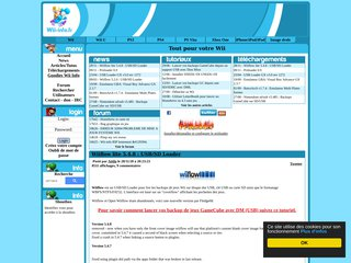 screenshot http://www.wii-info.fr <title>ANNUAIRE NOOGLE.  webmaster connect</title>