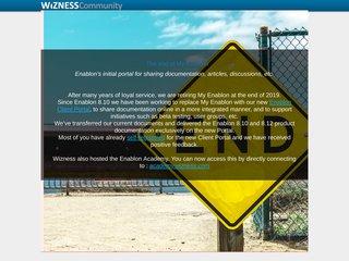 screenshot http://www.wizness.com Wizness.com
