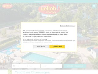 Camping Yelloh! Village En Champagne Les Sources Du Lac 4 étoiles à Eclaron