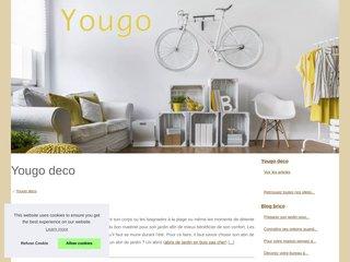 screenshot http://www.yougo-deco.fr Yougo déco création de stickers décoratifs