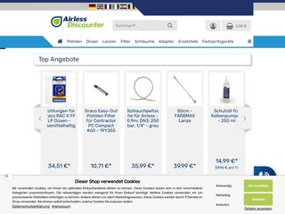 screenshot https://www.airless-discounter.de/index.php?language=fr