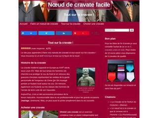 screenshot https://www.noeud-de-cravate-facile.com