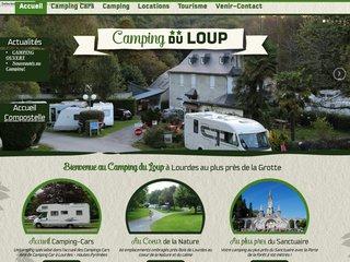Camping Du Loup 2 étoiles à Lourdes