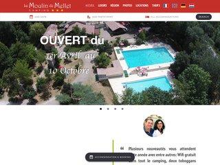 Camping Le Moulin De Mellet 3 étoiles à Saint-Hilaire-De-Lusignan