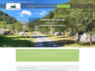 Camping De Voissières 2 étoiles à Chambon-Sur-Lac
