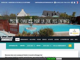 Camping De Keralouet 2 étoiles à Lesconil