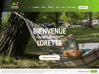 Camping Municipal Lorette 2 étoiles à Le Poët-Laval