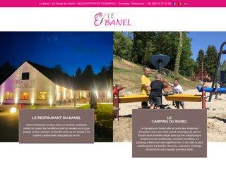 Camping Le Banel 3 étoiles à Matton-Et-Clémency