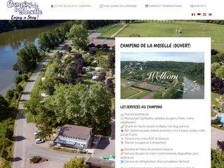 Camping Les Boucles De La Moselle 2 étoiles à Liverdun