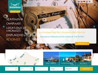 Camping Aquarev 3 étoiles à Loudéac
