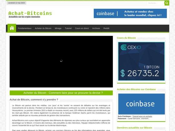 Premier guide français sur le Bitcoin