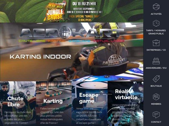 Aerokart: séminaires sportifs et complexe de loisirs