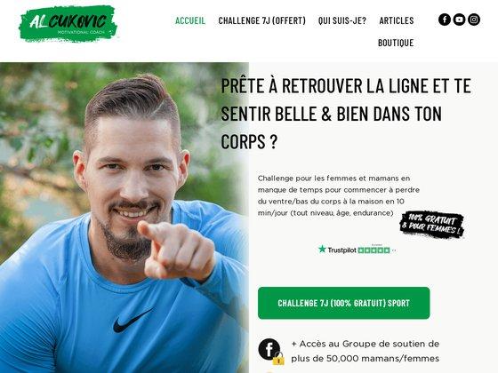 Al Cukovic coach en nutrition et remise en forme à Paris