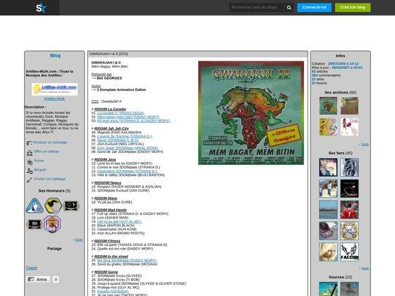Antilles-mizik - toute la musique des antilles