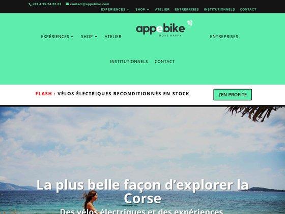 Appebike, louer un vélo électrique en Corse