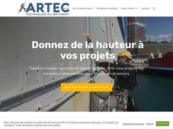 Artec - Travaux acrobatiques et en hauteur sur Marseille