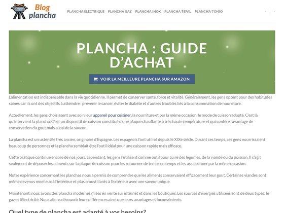 Blog des Planchas Forge Adour
