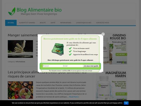 Blog de l'alimentaire bio