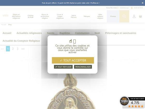 Toute l'actu sur notre blog religieux