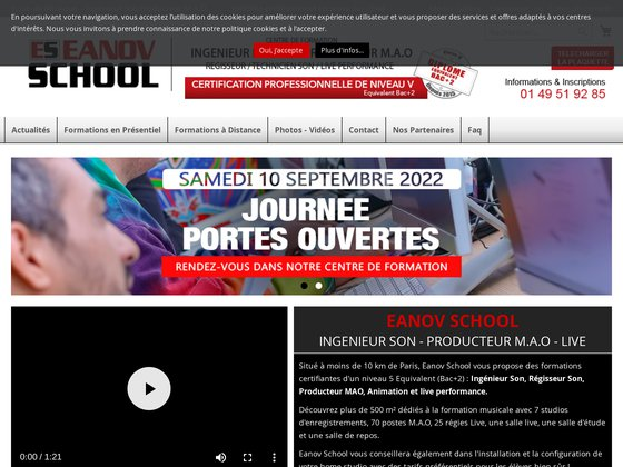 DJ EANOV SCHOOL : Ecole de DJ, Formation et Cours de DJ.