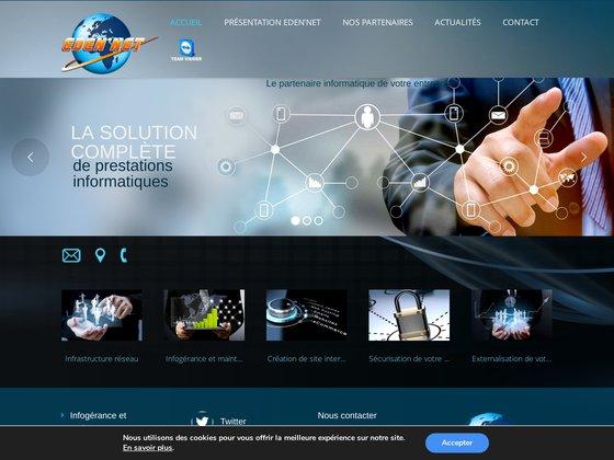 Eden'Net : référencement de sites internet dans la Loire/St Etienne