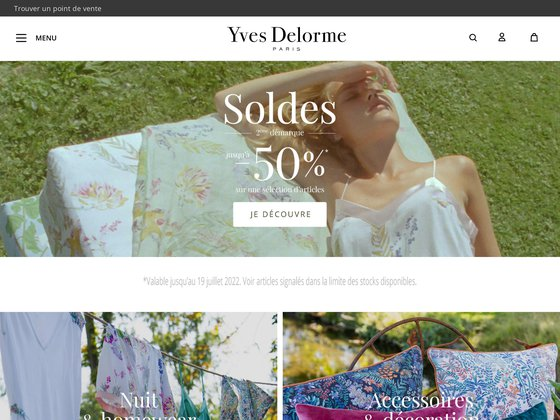 Yves Delorme : linge de maison haut de gamme, Paris